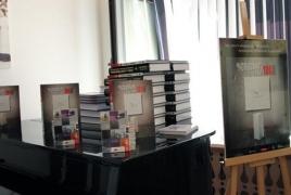Bilingual book, documentary on Armenian heritage presented