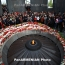Armenians worldwide commemorate 101st anniversary of Genocide