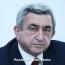 Президент Армении: Заявляю во всеуслышание - уничтожения или выселения армян Карабаха не будет