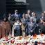 ՀՀ նախագահը, կաթողիկոսը, Ազնավուրը և Քլունին Ծիծեռնակաբերդում  հարգել են Ցեղասպանության զոհերի հիշատակը