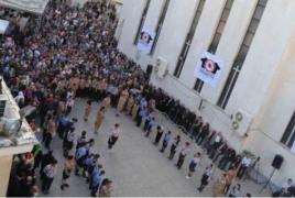 Iranian capital honors memory of Armenian Genocide victims