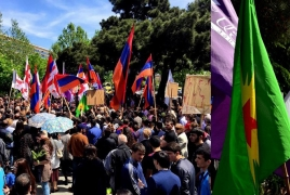 Tbilisi demonstration honors memory of 1.5 mln Armenian Genocide victims