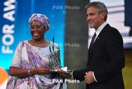 Первым лауреатом премии «Аврора» стала Маргерит Баранкитс из Бурунди