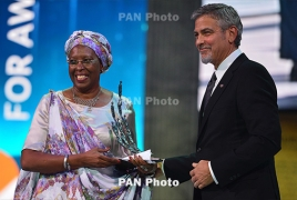 Marguerite Barankitse wins inaugural Aurora Prize in Armenia