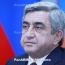 Armenian President sacks top military officials