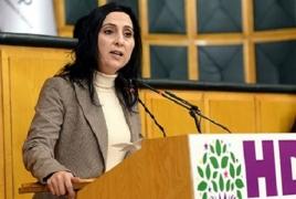 Turkey's pro-Kurdish party leader apologizes for Armenian Genocide