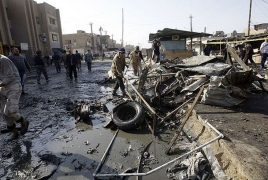 At least 14 killed in three bomb attacks in, around Baghdad