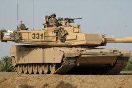 Американские танки прибыли в Грузию: Начинаются грузино-американские учения