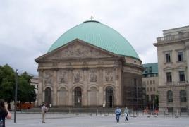 Armenian khachkar dedicated in Berlin in memory of Genocide victims