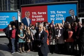Պատմության մեջ առաջին անգամ Լոնդոնի քաղաքապետը մահմեդական կլինի