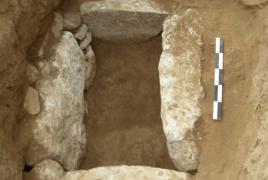Археолог: Обнаруженный карабахскими солдатами некрополь, вероятно, 1-х вв нашей эры