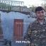 Թալիշում մեր դիրքը հետ բերած զինվորներից Սահակ Մալաքյան