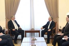 Նալբանդյանը ՝ ԵՄ հատուկ ներկայացուցչին. Բանակցությունները  կարող են վերսկսվել 3 պայմանի հիման վրա