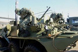 На российской военной базе в Армении  изучают применение химических машин шестого поколения