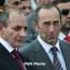 Президент НКР встретился с экс-президентом Армении и НКР Робертом Кочаряном