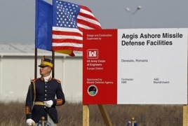 U.S. to turn on $800 mln missile shield in Romania
