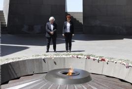 Депутат Европейского парламента посетил мемориал памяти жертв Геноцида армян