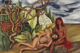 Frida Kahlo painting auctioned for record $8 mln at Christie's