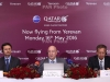 Qatar Airways launches in Armenia with maiden flight to Doha