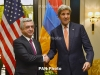 President Sargsyan, State Secretary Kerry discuss Karabakh settlement