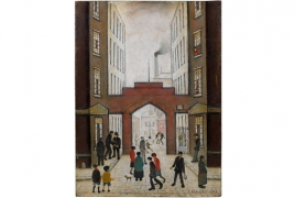 Important work by L.S Lowry leads Bonhams Modern British Art Sale