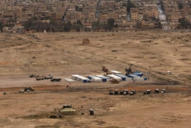 Russia constructing new army base in Syria's Palmyra