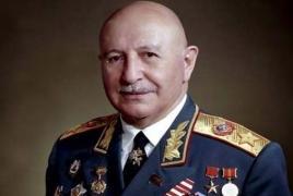 В Орле открылся памятник маршалу Баграмяну