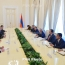 President meets with EEU premiers ahead of Yerevan session