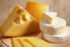 Экспорт армянского сыра в Россию вырос в два раза