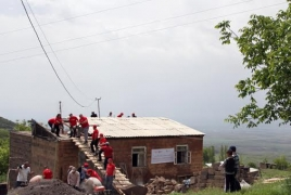 VivaCell-MTS, Fuller Center continue housing project in Aragatsotn province