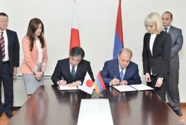 Правительтсва Армении и Японии подписали соглашение о предоставлении РА гранта в размере $2 млн