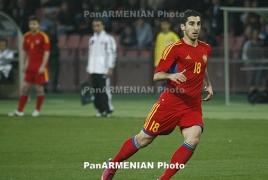 Генрих Мхитарян: Я сконцентрирован на матчах сборной Армении, будет сложно выйти в финал ЧМ