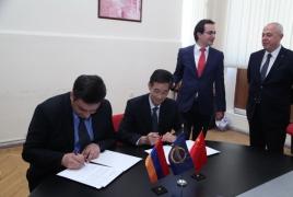 Армения заключила с китайской компанией договор о строительстве дороги Север-Юг на сумму около $60 млн