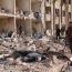 Armenian nursing home damaged as Aleppo falls under rocket attack