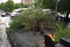 Новый циклон приближается к Армении: Ожидается еще более сильный ураган