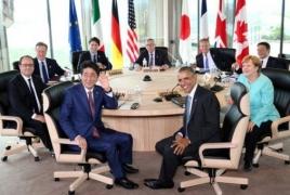 «Большая семерка» заявила о возможном усилении санкций против России, «если потребуется»