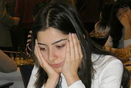 Армянские шахматистки в первом туре индивидуального ЧЕ: 2 поражения, 1 ничья