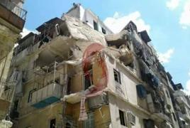 Армянонаселенный квартал Алеппо подвергся обстрелу, есть жертвы