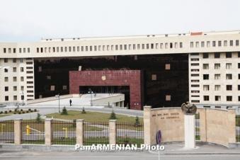 Арестованный генерал и полковники МО Армении подозреваются в злоупотреблении служебными обязанностями и бездействии