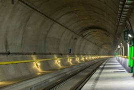 Switzerland to open world's longest and deepest rail tunnel