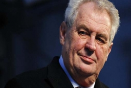 Czech President to start Armenia visit from Genocide memorial