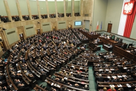 Polish parliament readying convention on Armenian Genocide