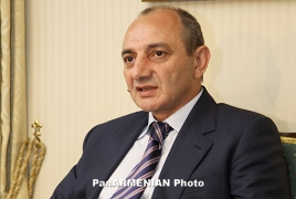 Karabakh President visits Brussels, hails Armenia-Artsakh-Diaspora ties