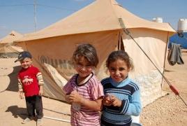 400 беженцев сирийской провинции Хама получили около 6 тонн гумпомощи от российских военных