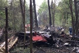 В Подмосковье разбился российский истребитель Су-27: Пилот погиб