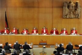 Ցեղասպանությունը ճանաչելու Բունդեսթագի որոշումը չեղարկելու հայցը՝ Սահմանադրական դատարանում