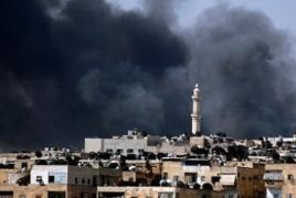 Террористы ведут обстрел кварталов и аэропорта Алеппо из РСЗО и минометов