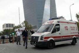 Взрыв на востоке Турции: 9 пострадавших