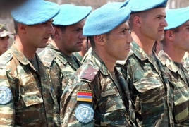56 Армянских миротворцев отправились в Германию