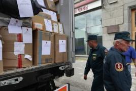 Россия доставила 5 тонн гумпомощи в  христианскую общину сирийской Латаки